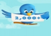 get you +2000 [2k] twitter FOLLOWERS [instantly]