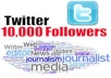 Provide u +10000 [10k] twitter FOLLOWERS [Very Fast]