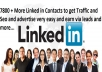 give you 7800 Linkedin Contacts