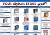 Friday Offer i will Give You a Turnkey Mega Ebook Store with MRR pre installed with 200 bestselling Digital Products