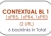 give you 8 High PAGERANK Contextual Backlinks from 1x PR5, 1x PR4, 1x PR3, 1x PR2 blogs 