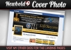 create for you PROFESSIONAL Facebook Timeline Cover Photo banner