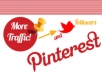 Pin not less than 20 blogpost or sites to Pinterest + each pin would be submitted to twitter 1000 followers