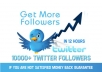 supply Real Twitter 10000++ Followers on your account without password