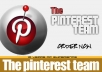 create a design of a high quality pinterest logo
