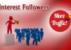 create 300+ Pinterest Followers for your account