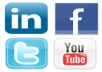 do  35 Twitter share, 50 Stumbleupon share,30 diigo share, 15 Facebook Share,10 Google plus share , 25 Delicious share