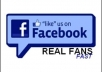 I Give You 100+ REAL Facebook Page Likes/Photo Likes/Post Likes/Profile Followers/Web Likes Only