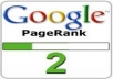manually create {Permanent} 30+ PR2 Dofollow Backlinks