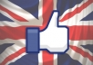 add 201+ Facebook Likes UK or Fans to your Fanpage or Url/Website/Domain/Webpage/blog