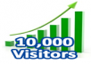 provide you 15,000 visitors to your seoclerks gig, you can order 5 time for same gig. thanks