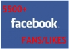 give  you 5500+ Facebook likes within 24 hours To your fanpage 