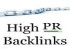 get your website atleast 125 SEO Backlinks and a Tweet to 11,500 people