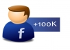 deliver 100k+ facebook likes to your fan page within 48 hours