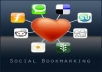 create 300 SOCIAL BOOKMARKS PR8 + PING + Drip feed if requested