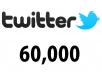 Get 60,000+ [60k] Twitter Followers [VERY FAST]