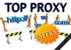 give you  HUGE PROXY LIST
