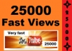 give you 30000 youtube views plus10 to 20 likes for