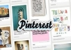 work on your pinterest account for an hour