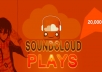 get you 50000 Soundcloud plays To Your SoundCloud Track