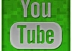 get you no less than 60+ Custom Positive Youtube Comments + 70 like and 200 views for your video