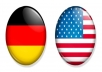 translate your article from english into german, 200 words, grammar and error free, no software