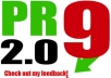 make you 20  PR9 backlinks from 20 different PR 9 high authority sites [ DoFollow, Anchor Text, Panda Penguin Frindly ] + pinging