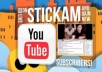 give you 300+ YouTube Subscribers within 12 hours, from verified accounts just only