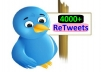 get you 4000+ Retweets on your tweet in just 24 hours