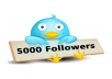 Get You 5,000+ Real Looking High Quality Twitter Followers