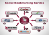 provide CALCULATED And Manually 22+ Social Bookmark Backlinks From Pr8 to pr5