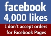 add 4,000 Verified and Permanent Facebook likes to any website / webpage / domain in less than 24h