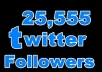 give you 25,555++ Followers To Your account without password U will get [Real and legit] followers within 5 hours Spliting Also Available just only