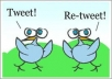 "give 2700+ retweets and 2700+ favorite to your tweet ""twitter expert"""