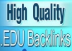 Create 500+ EDU Backlinks to your Website, Google Loves Edu Backlinks Dofollow Bonus