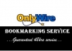 create for you a free onlywire account with 30 social networks fully linked and configured in 72hrs