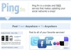give you a Ping fm account creator, pingfm