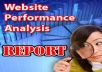 audit your website and give you an A to Z SEO optimization report with over 80 pages just