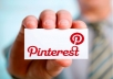 Make You a Pinterest Account With 1000 Pins Linking to Your Site