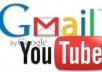 create 15 GMail / YouTube PVA accounts