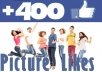 quickly give your +200 likes to your picture/post on facebook
