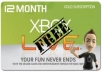 give  Free Xbox Live and Microsoft Points for 1 Year