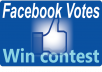 deliver 100 Facebook Votes to your competition