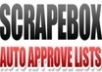 give you my list of 90000 working  blogs for use with scrapebox fast poster
