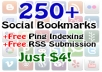 bookmark your site or URL fast to 250 bookmark sites