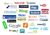 ® social bookmark on 200+ social websites after that will ping rss index them and deliver raport under 11 hours