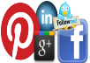 give you 100 google+1+100 Pinterest followers+100 Facebook likes+100 Twitter Followers