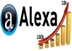 give you 30 alexa review for your website