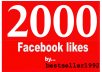 give You 2000+ Facebook Fans 