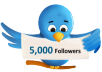 get you 5000+ TopQuality Real looking TWITTER followers follow in less then 8 hours with out the need of your pass word